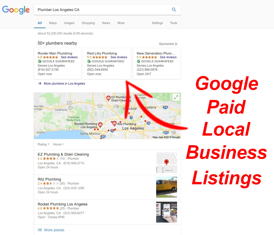 Google Local Business Paid Ads