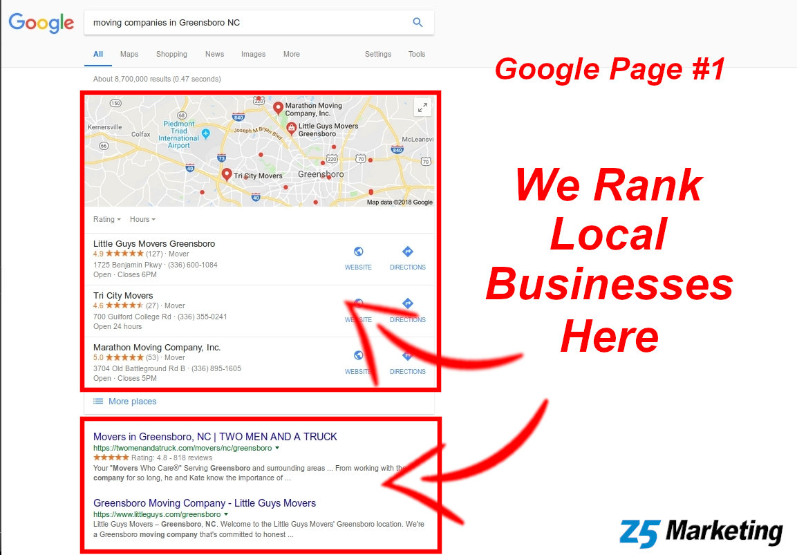 Greensboro SEO Experts
